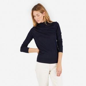Everlane Luxe Wool Mockneck Sweater